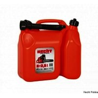 Canistra HECHT K00085, din plastic si are 6 l + 2.5 l