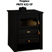 Semineu Combustibil Solid Prity K22 Cp, Lungime 51 Cm, 10 Kw