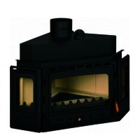 Semineu combustibil solid PRITY ATC, Lungime 108 cm, 14 kw
