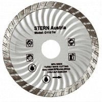 Disc diamantat turbo Stern 115 mm, 1300 rpm, D115TW