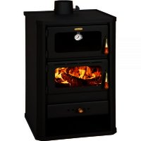 Semineu combustibil solid Prity FM, Latime 46 cm, 12 kw