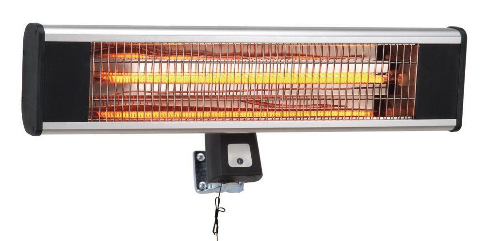 Incalzitor electric 1500W Lamp Carbon, Heinner, VITG010