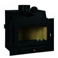 Semineu combustibil solid Prity G, Lungime 75 cm, 16 kw