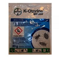 Insecticid K-Othrine WG 250 (deltamethrin 25%), Bayer