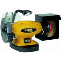 Polizor de banc cu disc si perie, Far Tools, FT-110255, BGB 150B, 450W, disc 150mm