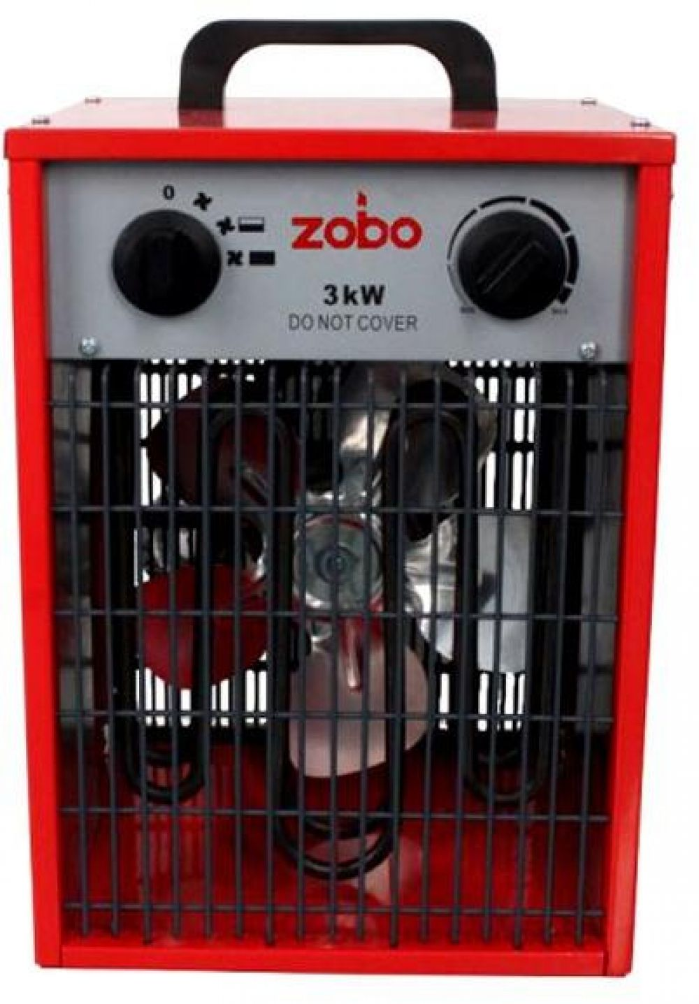Aeroterma Electrica, Zobo Zb-Ef3, 3 Kw, 30 Mp