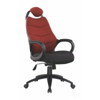 Scaun gaming HM Striker negru - bordo