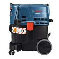 Aspirator umed/uscat Bosch GAS 35 L AFC Professional, 1380 W, 35 L, latime 450 mm, lungime 515 mm, inaltime 575 mm, 12.2 kg, 06019C3200