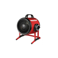Aeroterma electrica HECHT 3420, 3000 W, 50 mp