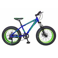 Bicicleta Fat Bike, Velors, V2019B, cadru otel