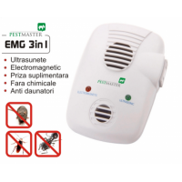 Aparat anti daunatori Pestmaster EMG 3 in 1, 200 mp, 1 W